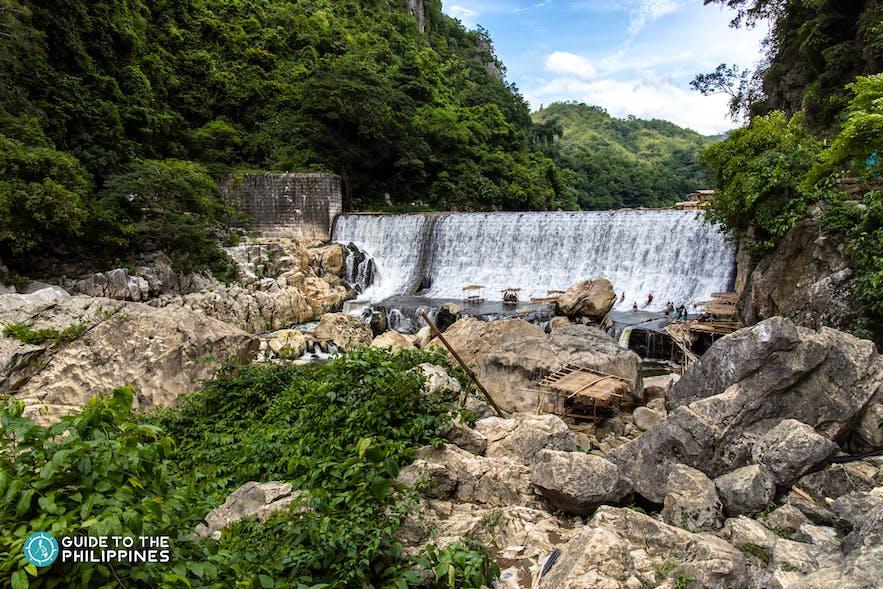 The waterfalls of Wawa Dam, Rizal