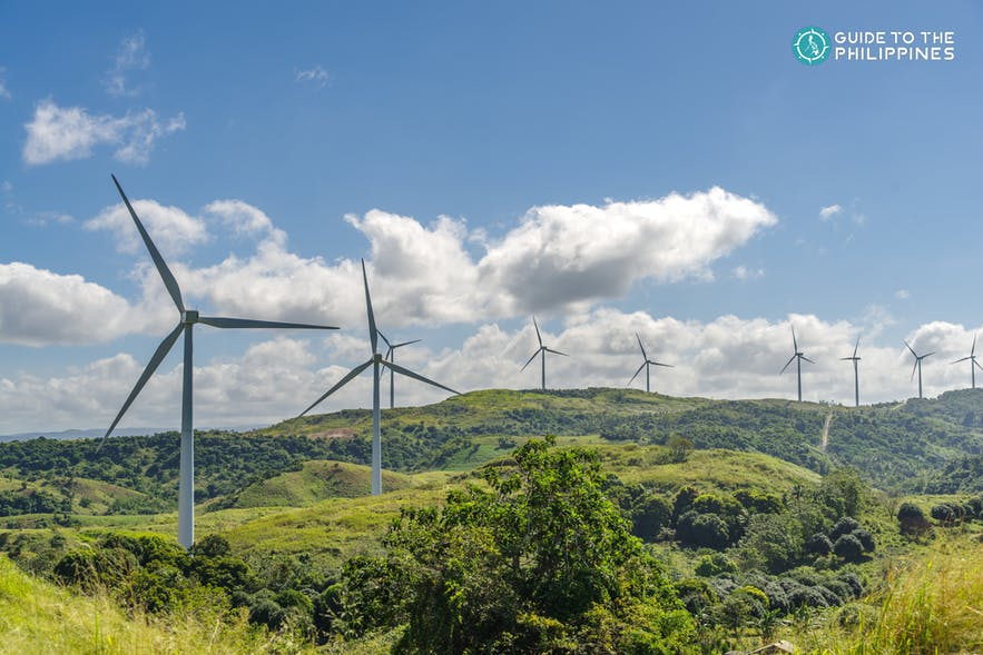 Windmills in Pililla Wind Farm, Rizal