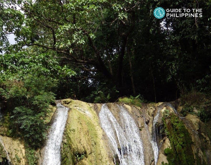 View of Daranak Falls in Rizal