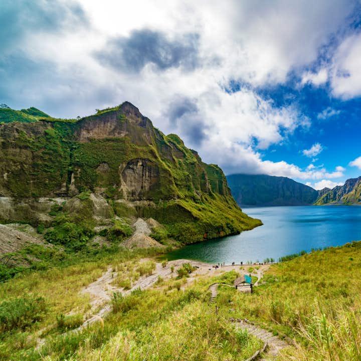 Crater Lake of Mt. Pinatubo
