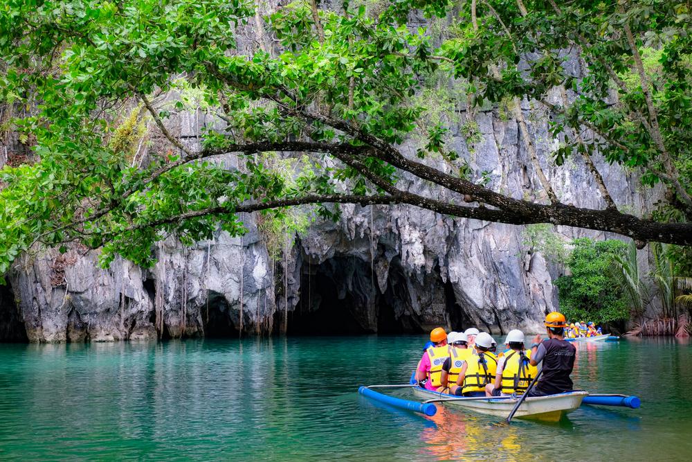 Underground River Tour at Puerto Princesa Palawan
