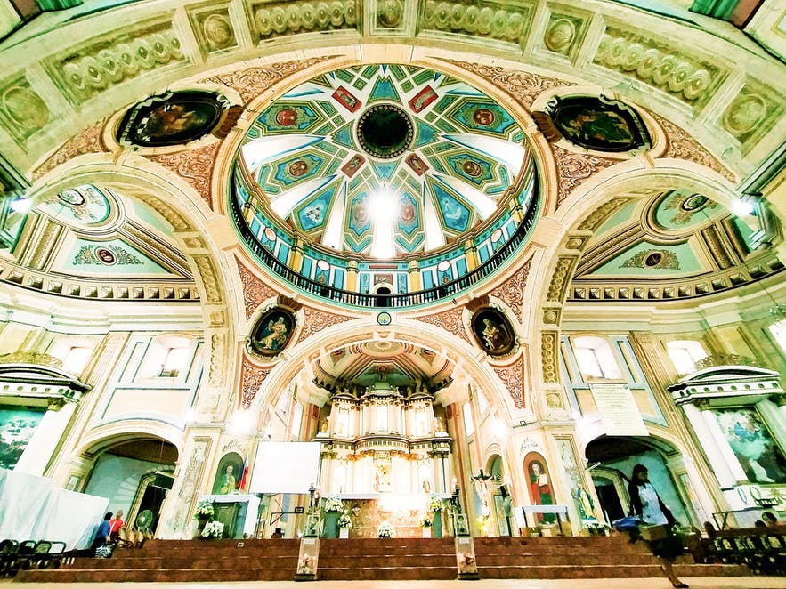 Ceiling of Minor Basilica of Saint Michael the Archangel