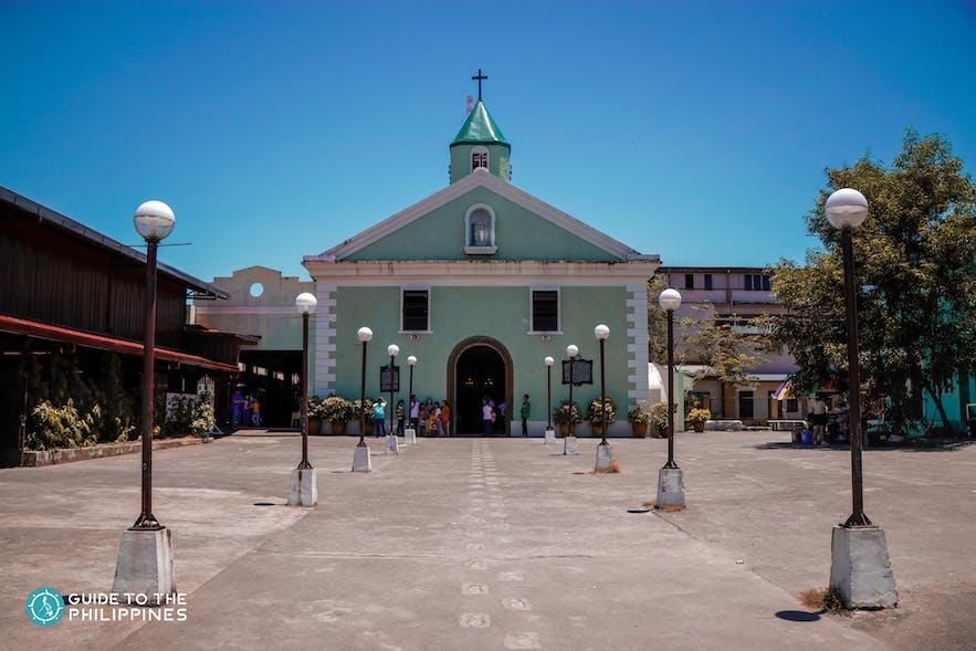 Facade of Baler Church