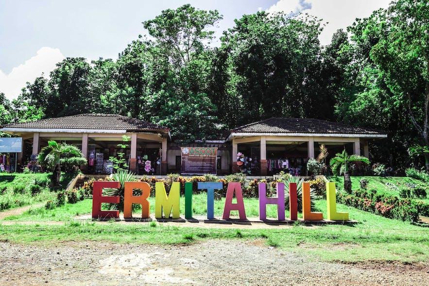 The entrance to Ermita Hill