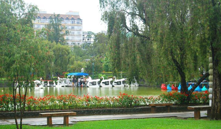 Foggy day in Burnham Park in Baguio City
