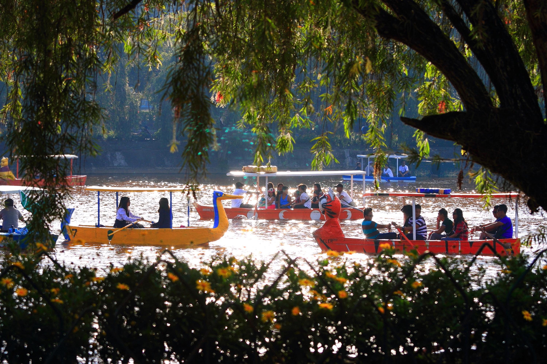 Burnham Park in Baguio City