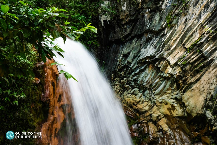 VIew of Pulang Bato Falls in Negros Oriental