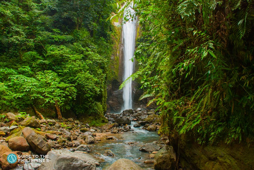 View of Casaroro Falls in Negros Occidental