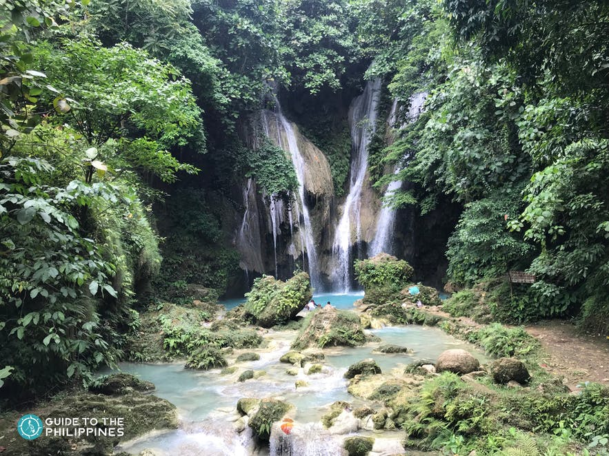 View of Mag-Aso Falls in Negros Occidental