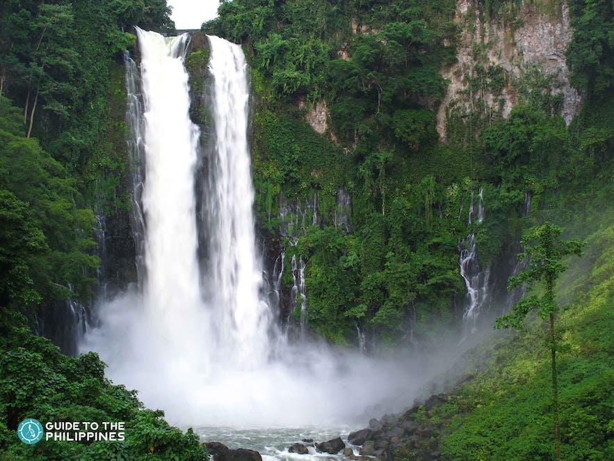View of Maria Cristina Falls in Iligan, Philippines