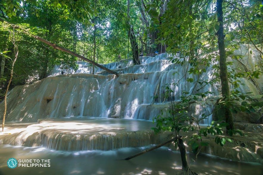 View of Kaparkan Falls in Abra