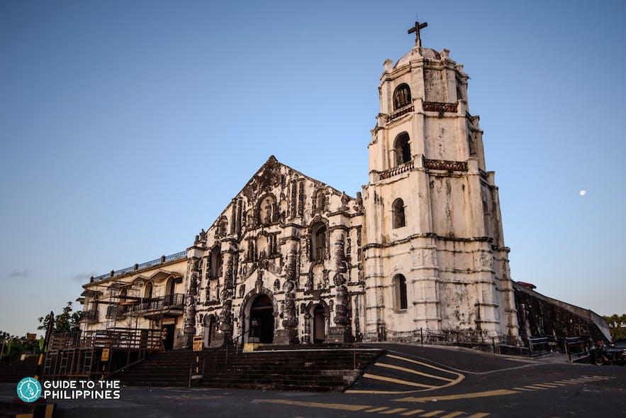 Facade of Daraga Church in Albay, Bicol