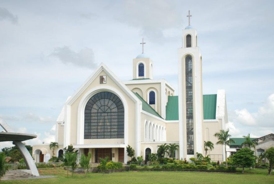 Exterior of the Basilica of Our Lady of Peñafrancia
