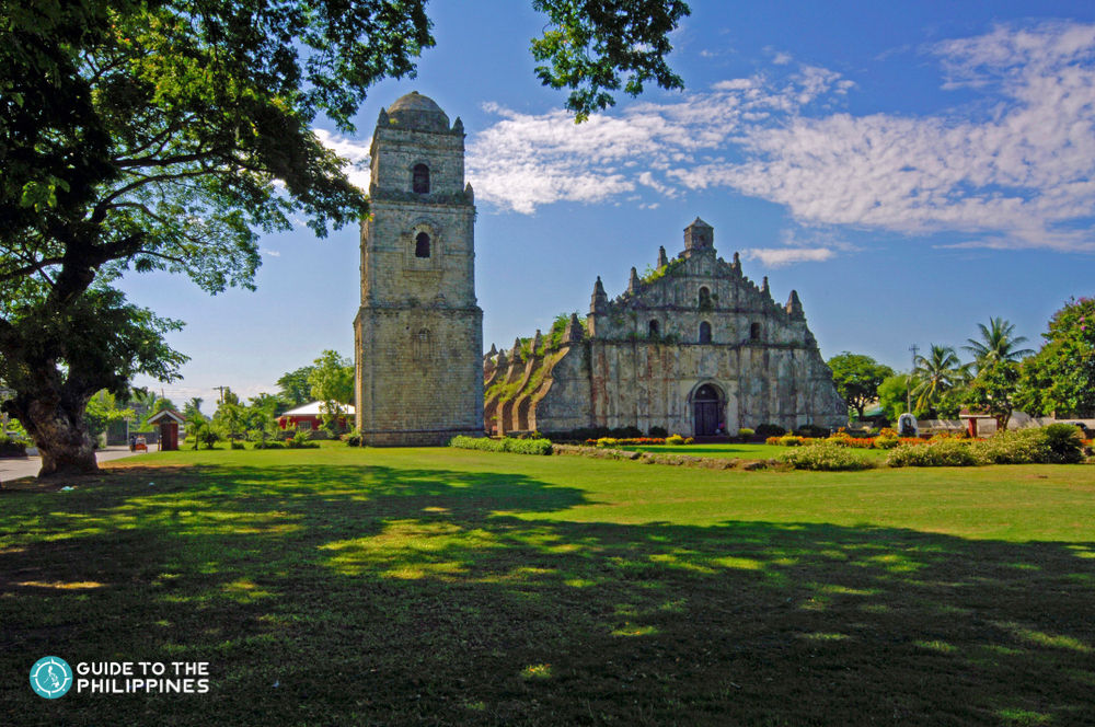 View of Paoay Church in Ilocos