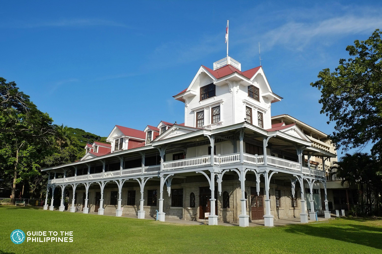 Museum inside Silliman University in Dumaguete