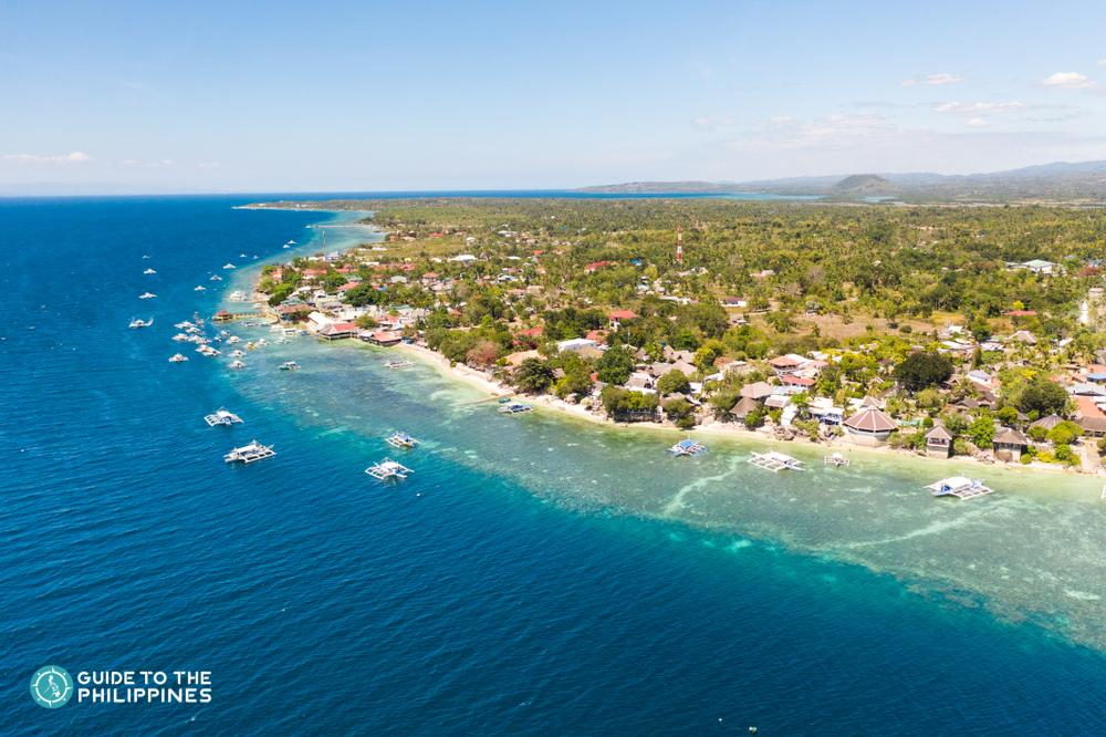 Moalboal Island in Cebu