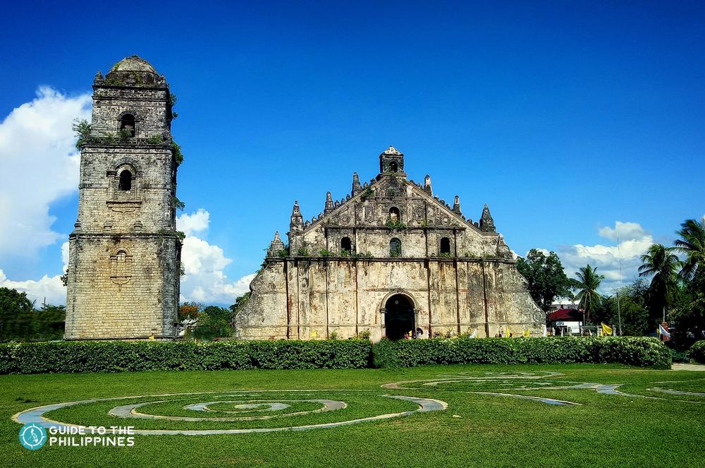 Paoay Church in Laoag Ilocos Norte