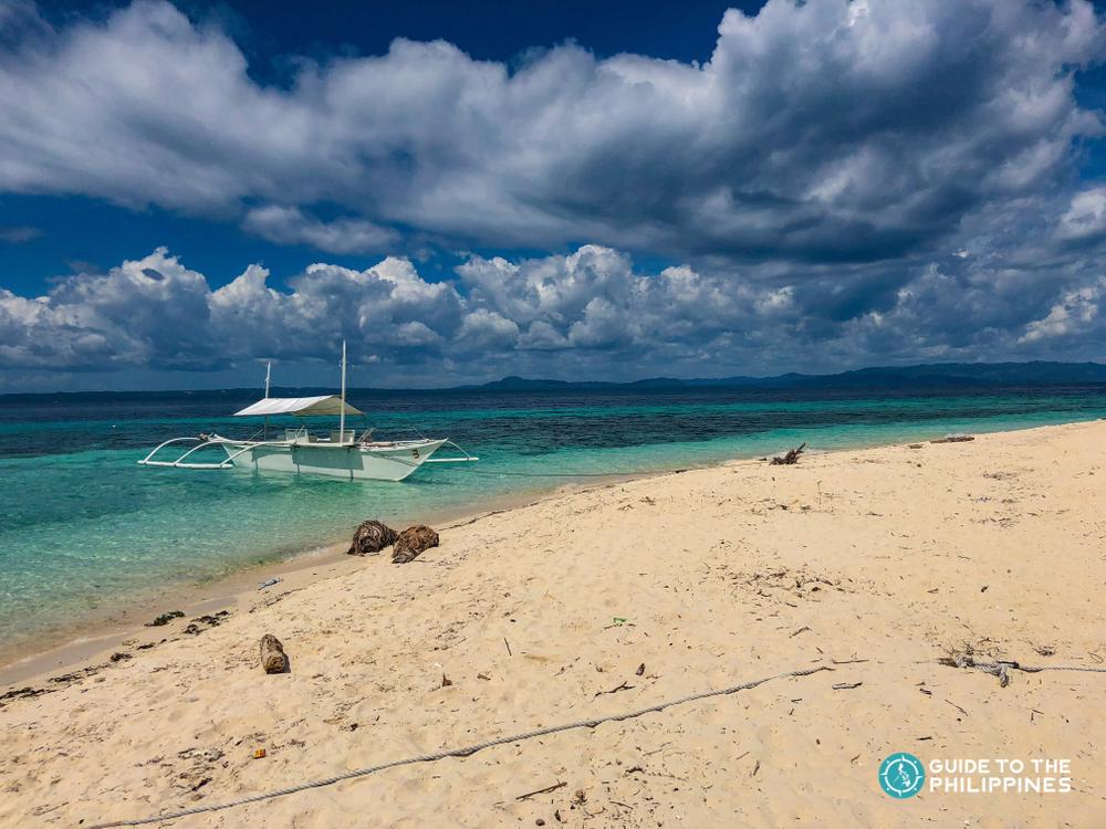 Beach at Pamilacan Island in Bohol
