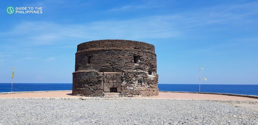 Ruins of the Baluarte Watch Tower at Luna, La Union