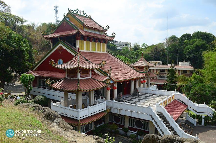 Exterior of Ma-Cho Temple in La Union