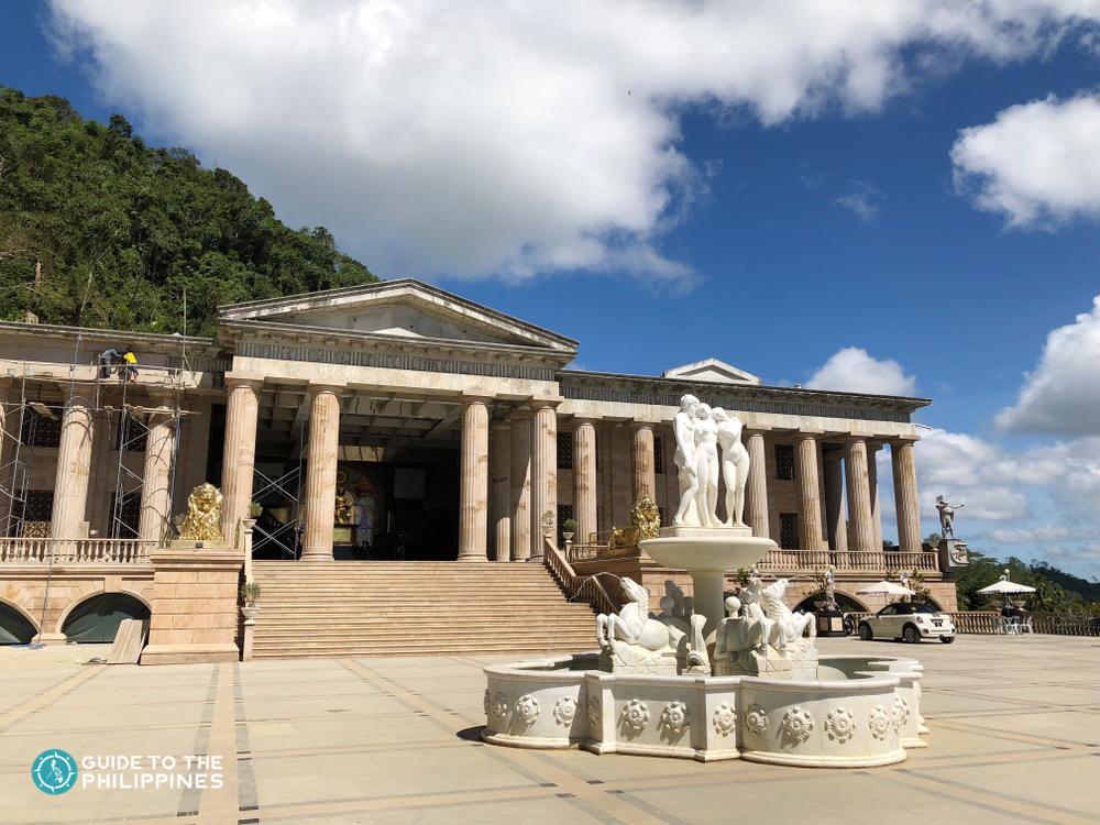 Facade of Cebu's Temple of Leah