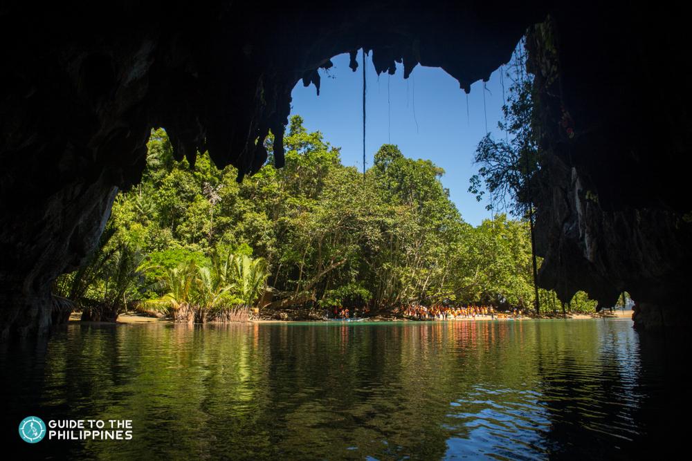 Exit of Puerto Princesa Underground River