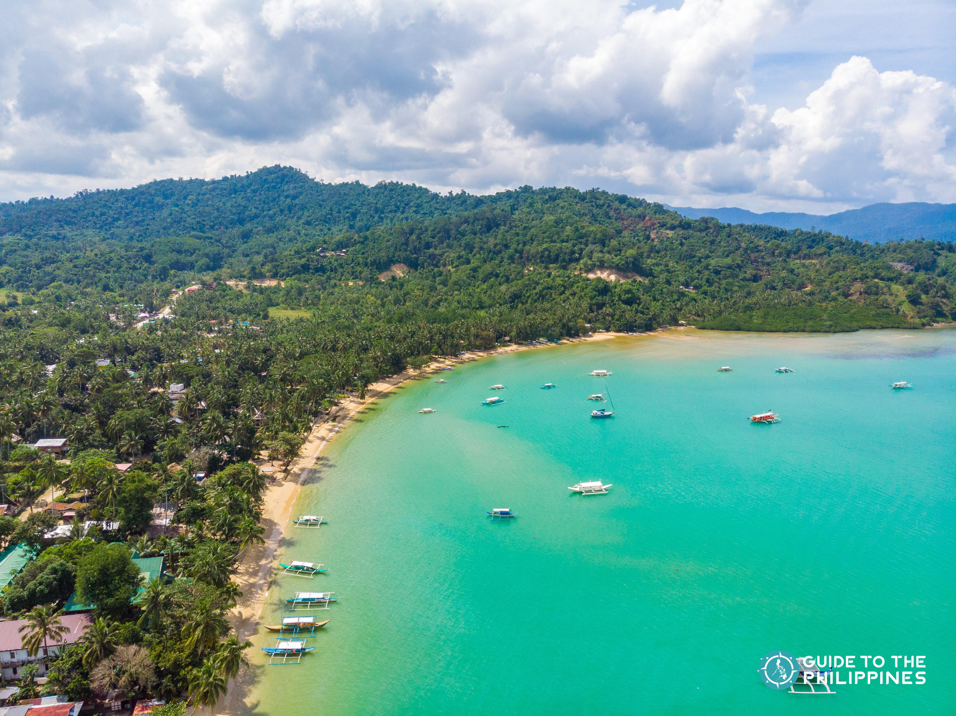 Beach in Port Barton Palawan