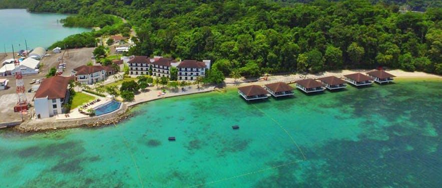 Aerial view of Kamana Sanctuary Spa Resort in Subic