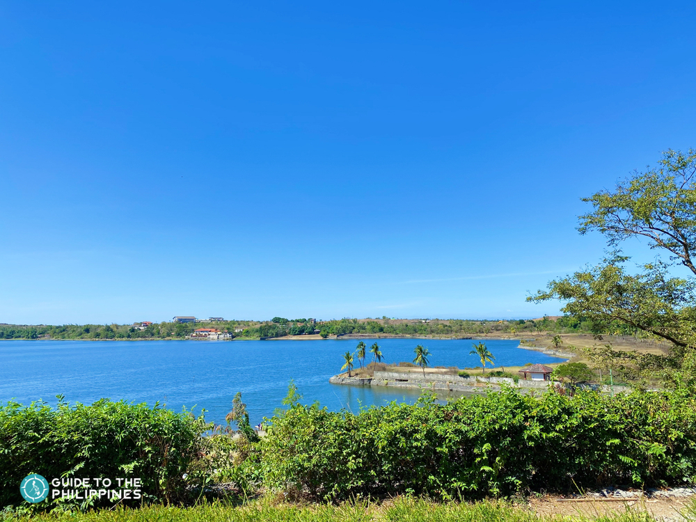 View of Paoay Lake in Ilocos