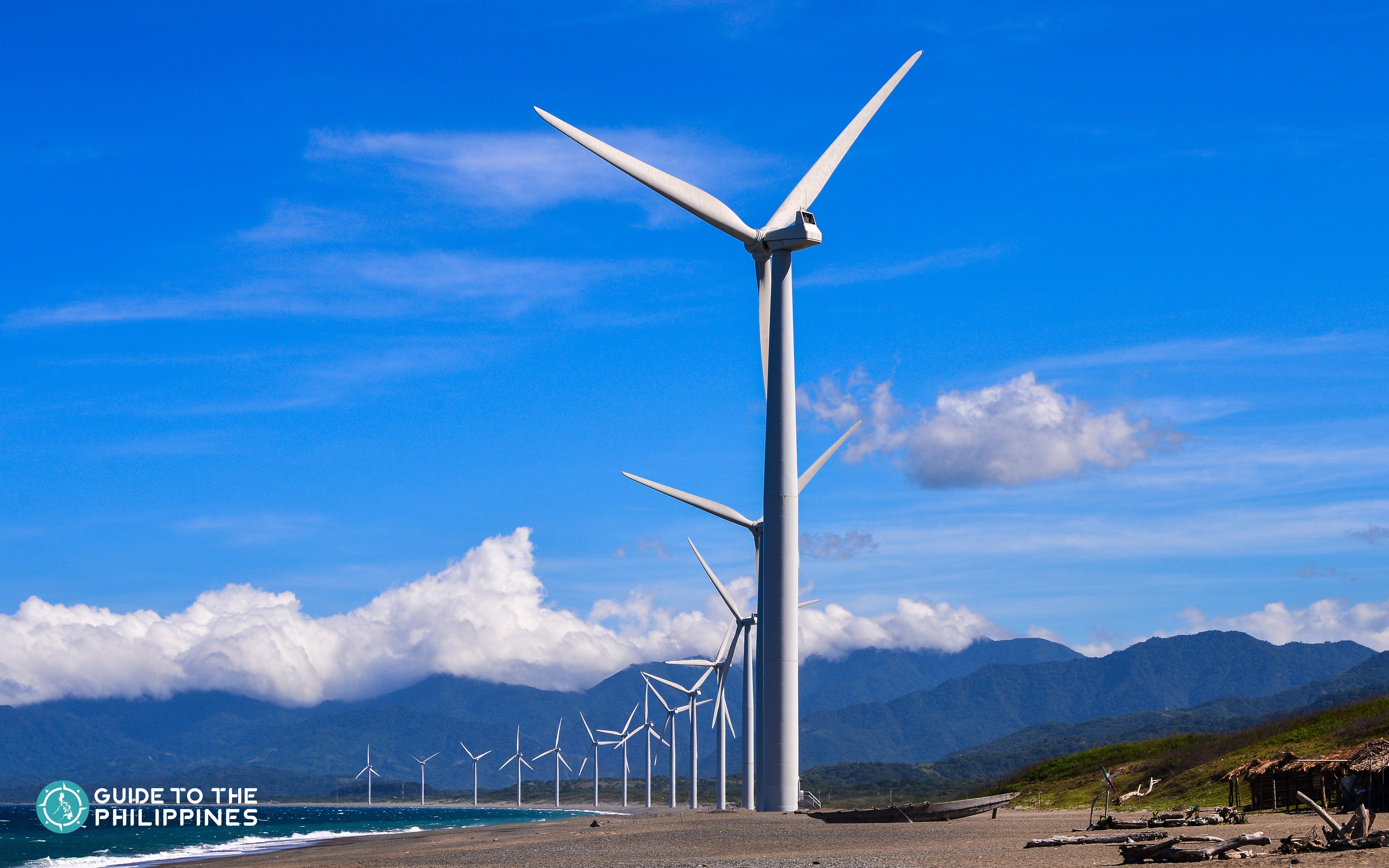 Popular Bangui Windmills in Ilocos