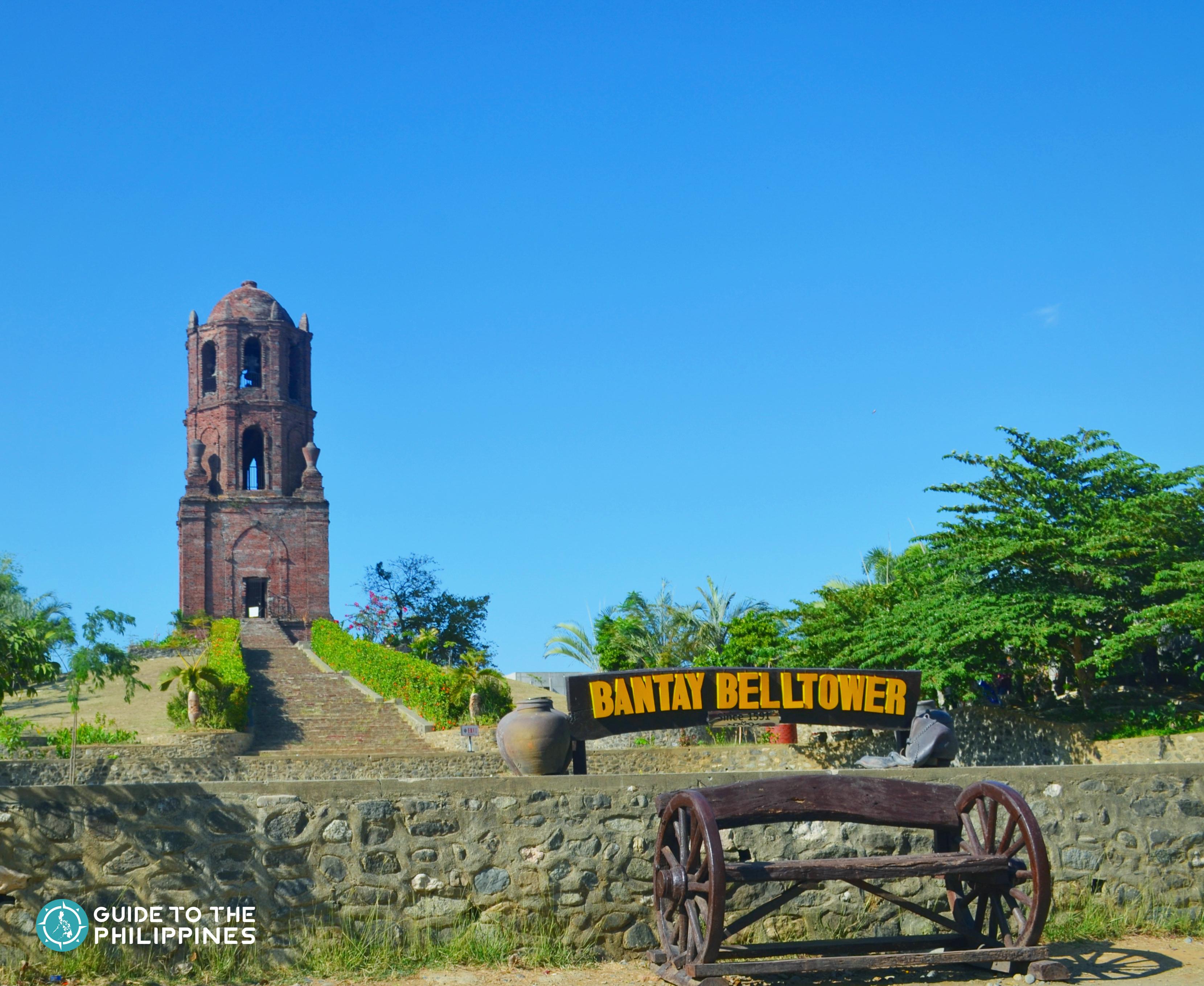 Bantay Belltower, a popular tourist spot in Vigan