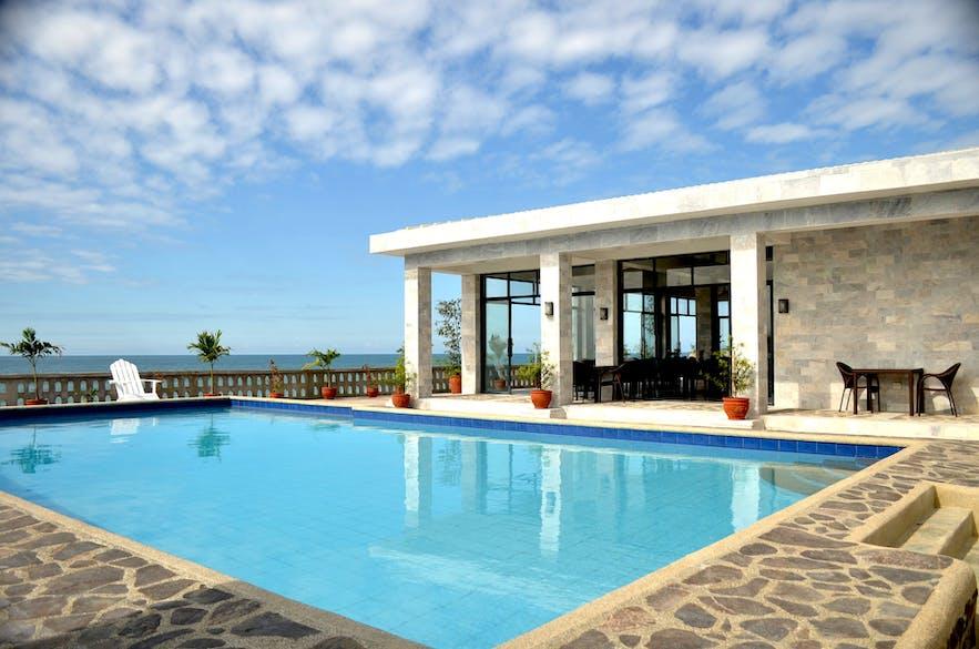 The pool of Villas Buenavista