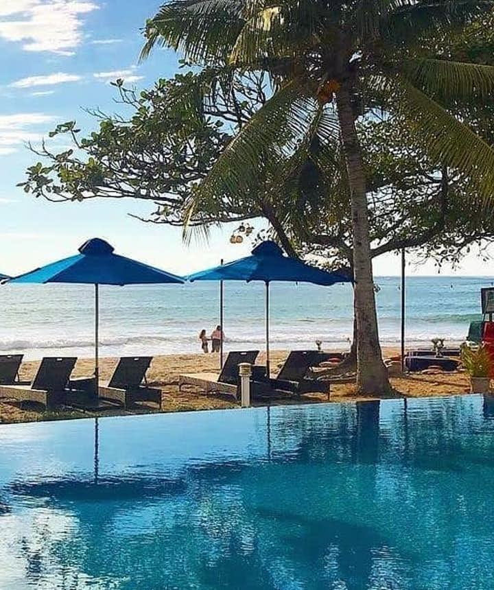 Aureo La Union's pool by the beach