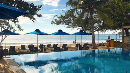 Aureo La Union's pool by the beach.jpg
