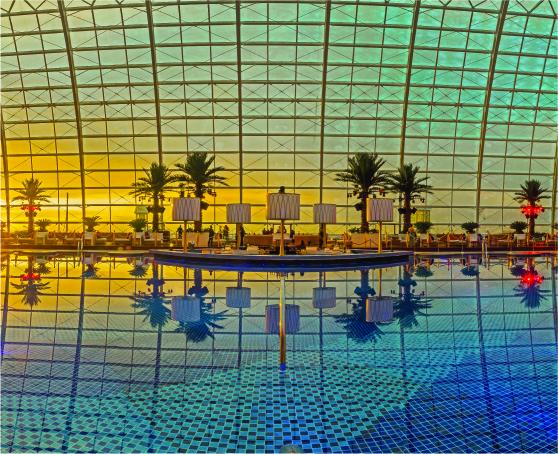 Pool of Cove Manila in Okada Manila Hotel
