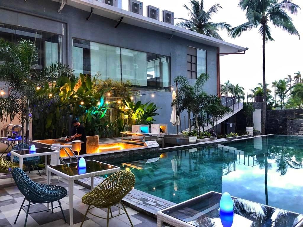 Enjoy the pool area of Solea Palms Resort in Cebu