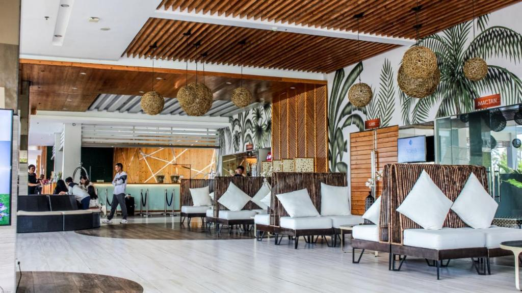 Lobby of Solea Mactan Resort in Cebu