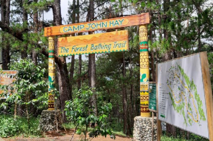 Try the activities inside Camp John Hay