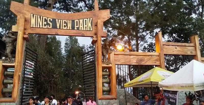 Entrance to Mines view Park in Baguio