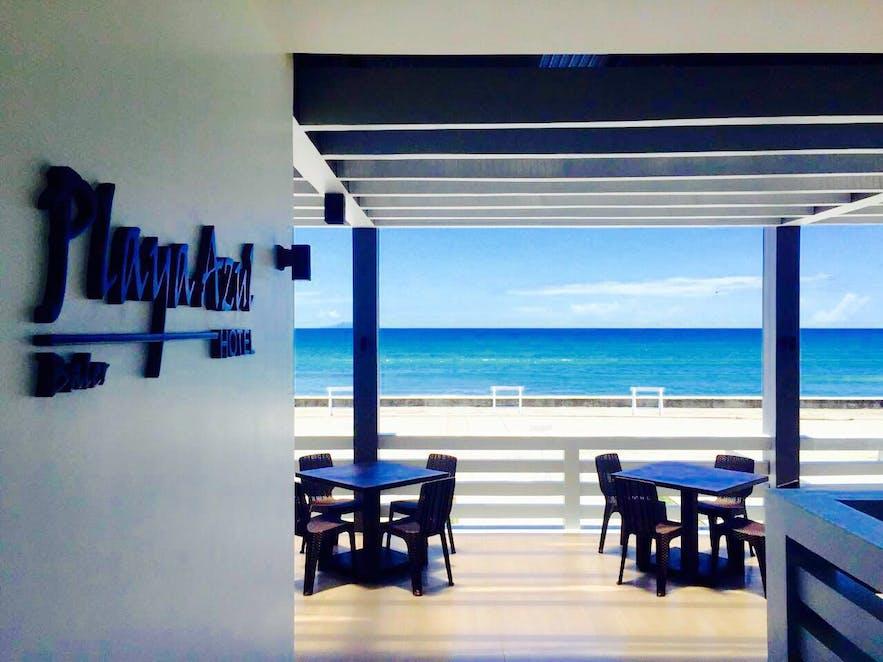 Beachfront of Playa Azul Baler