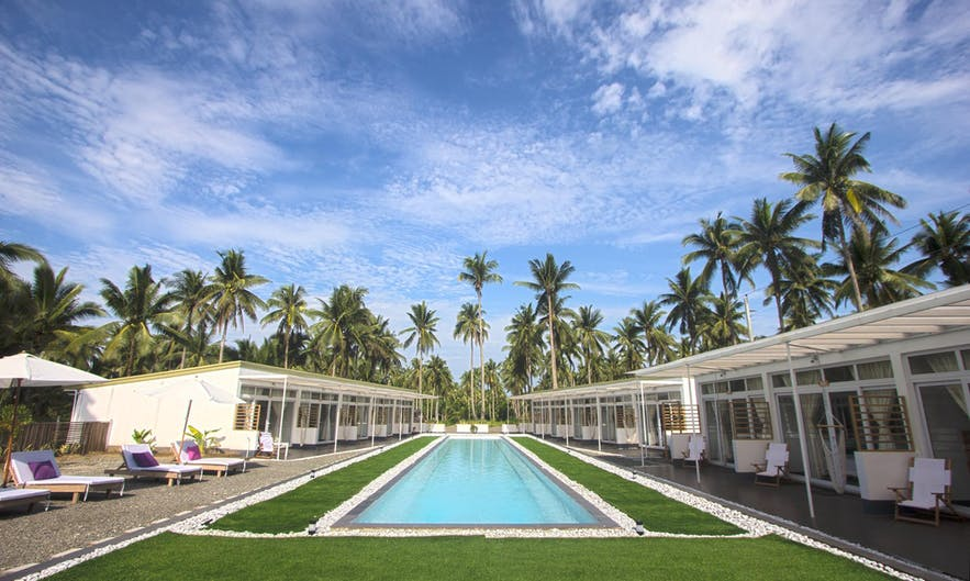 The pool of L'Sirene Boutique Resort