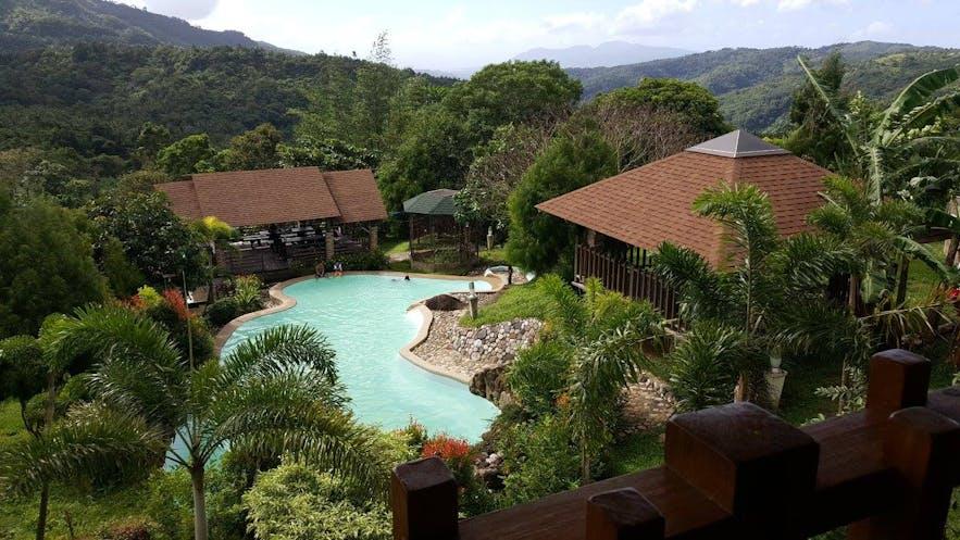 Pool area in Tanay Hideaway