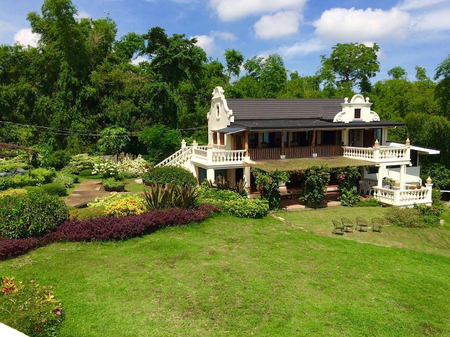 The garden of Ataalaya Farmhouse