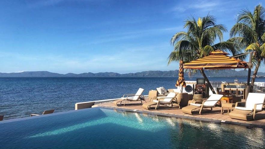 Soler Sea Resort's infinity pool