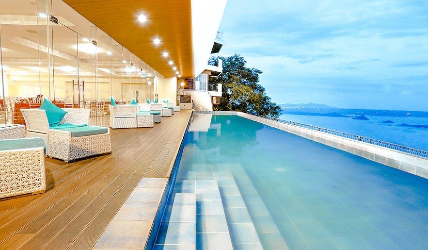 Lake Hotel Tagaytay's pool area