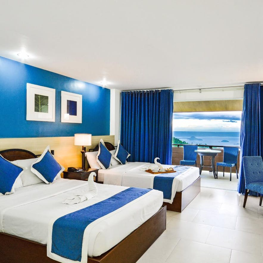 Estancia Resort Tagaytay's lakeview room