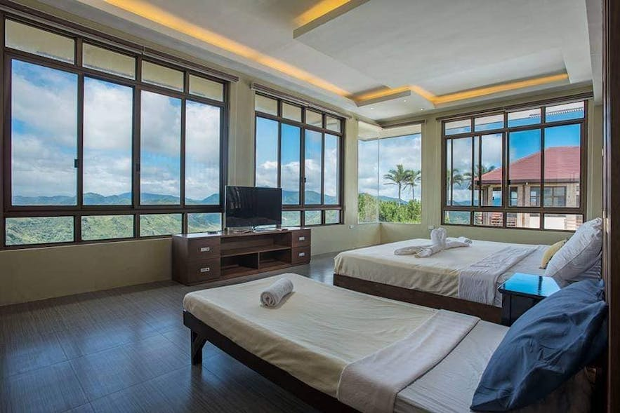 The mountainview rooms at Martessem Mountain Resort