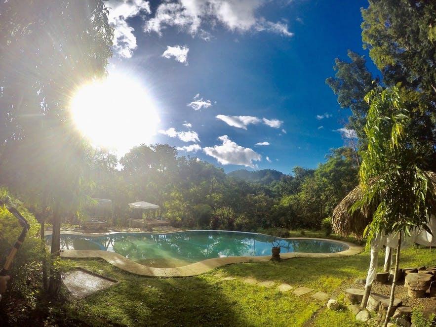Mount Purro Nature Reserve's pool area