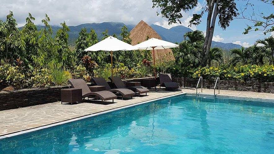 Poolside of Utopia Resort & Spa