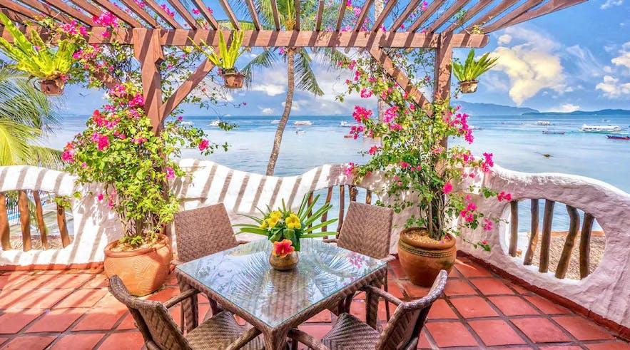 Balcony of Atlantis Dive Resort Puerto Galera